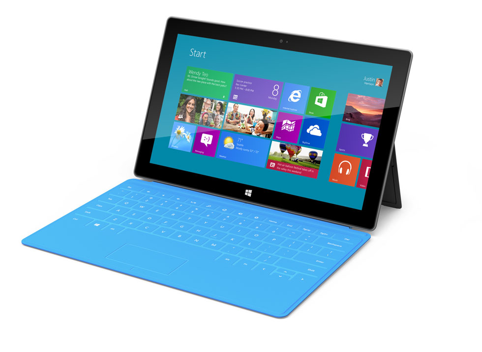 Surface running Windows RT