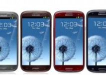 Four more colours announced for the Samsung Galaxy S3