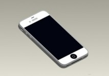 White iPhone 5 image leaks, edge-to-edge display onboard