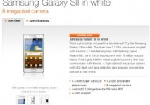 White Samsung Galaxy S2 heading to Orange